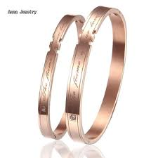 distinctive romantic designs lovers cuff bracelet the flame of our