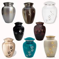 pet urn classic paws series pet memorial cremation urn small to large dog