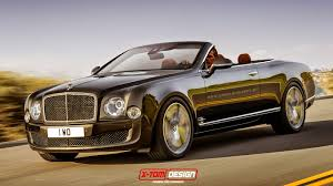 bentley bentayga render x tomi design bentley mulsanne speed convertible