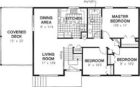 split entry floor plans european house plan 3 bedrooms 1 bath 1027 sq ft plan 40 142