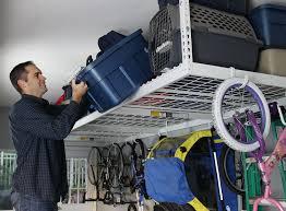 saferacks two 4x8 overhead garage storage racks heavy duty