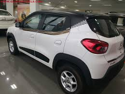 renault cars kwid renault kwid customized looks stunning now available in goa