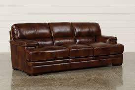 tan brown leather sofa rodrick leather sofa living spaces