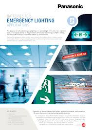 emergency lighting battery life expectancy panasonic ni mh batteries leaflet emergency lighting en ni mh