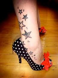 star tattoos on feet best tattoos designs