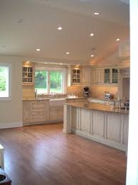 cathedral ceiling kitchen lighting ideas recessed lighting vaulted ceiling picture kitchen dining room