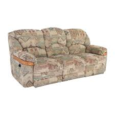 Patterned Sofa Bed 82 Off Patterned Fabric Recliner Sofa Sofas