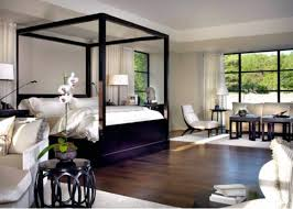 black canopy bed design ideas