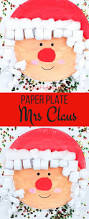 paper plate mrs claus christmas craft arty crafty kids
