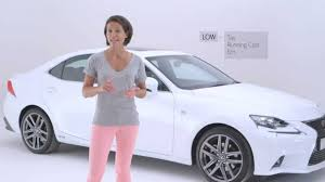 lexus is test youtube lexus is review with amanda stretton youtube