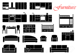 kitchen sofa furniture assorted silhouette home furniture with chair bed table kitchen