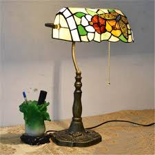 Flower Table Lamp Online Cheap European Style Garden Arts Butterfly Flower Table