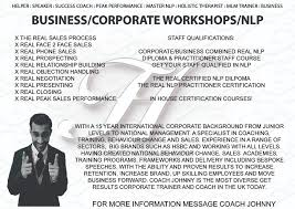 Nlp Certified Master Practitioner Workshop Business Corporate
