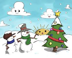 christmas landscapes drawings images