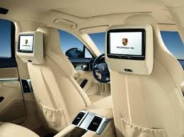 porsche panamera inside official images of porsche panamera interior
