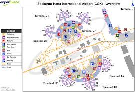 Airport Terminal Floor Plan by Jakarta Soekarno Hatta International Cgk Airport Terminal Maps