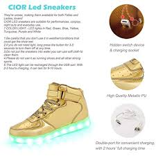 ladies light up shoes aeropost com trinidad and tobago cior high top led light up shoes