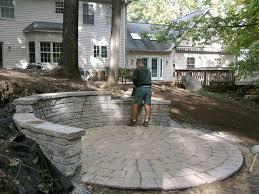 Putting In Pavers Patio Diy Paver Patio Add Outside Patio Pavers Add Brick Paver Designs
