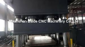 yh27 door skin moulding machine metal sheet embossing machine for