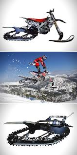 snow motocross bike when you combine motocross bike and snowmobile you get the