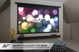 spectrum series electric screens wall ceiling elite screens