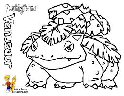 venusaur coloring pages getcoloringpages com