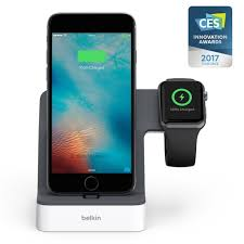 amazon com belkin powerhouse charge dock for apple watch and