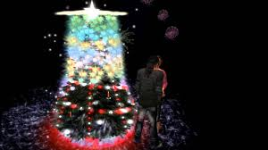 musical christmas tree with light show in second life youtube