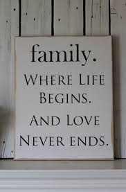 always your family through the times and the best of