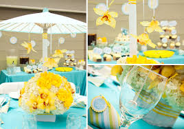 yellow baby shower ideas elephant baby shower turquoise and yellow with some brown my