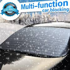hippo multi funtion car snow cover frost blocking sunlight max