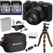 canon powershot g3 x digital camera with 8 bonus accessories