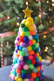 pom pom christmas tree christmas craft pom pom crafts