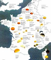 Map Of Lyon France by A Cheese Map Of France How Many Of These Have You Tried