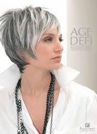 coupe pour cheveux gris coupe cheveux gris femme 50 ans
