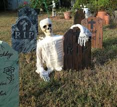 tombstone decorations diy easy decorations tombstones yard props and more