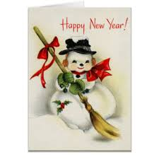 new year s greeting card vintage new years greeting cards zazzle
