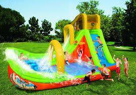 amazon com spring u0026 summer toys banzai wipeout curve water park