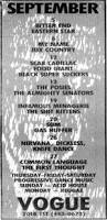 Nirvana Blind Pig Nirvana Setlists