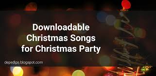 downloadable christmas songs christmas party deped lp u0027s