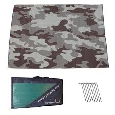 Rv Awning Mats 8 X 20 by Rv Patio Awning Mat Outdoor 9x12 Brown Tan Camoflage 9x12cambr Ebay