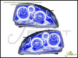 nissan altima headlights oracle 02 06 nissan altima ccfl halo rings headlights bulbs