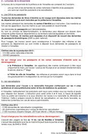 bureau de naturalisation dossier de presse informations aux usagers modification de l