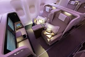 Most Comfortable Airlines Our First Class On Our New B777 300er Unwind And Relax In
