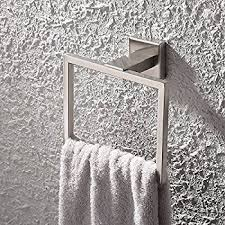 Bathroom Towel Holder Amazon Com Kes Towel Ring Holder For Bathroom Sus 304 Stainless