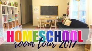 homeschool room tour 2017 youtube