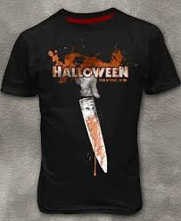halloween michael myers trick or treat mens t shirt black