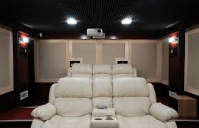 Projector Media Room - home media room designs ideas zesty home