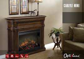 electric fireplace dimplex mini carlyle u2022 artflame com