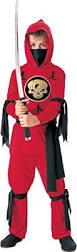 amazon com rubies red ninja boys costume toys u0026 games